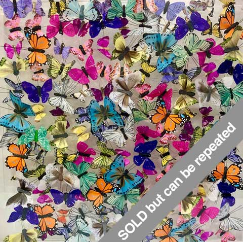 Variegated Monarch Butterfly Art
