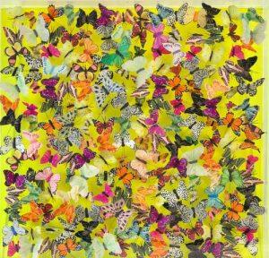 Lemon Drop Butterfly Art