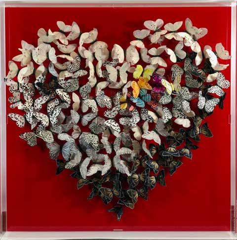 Love&Hope Butterfly Art